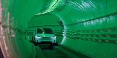 Il primo tunnel stradale di Elon Musk