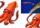 Un grande acquario se l'è presa con Apple per il suo emoji del calamaro 🦑