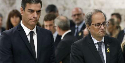 È finita la tregua tra il governo socialista spagnolo e la Catalogna
