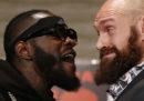 L'incontro di pugilato tra Deontay Wilder e Tyson Fury in diretta streaming