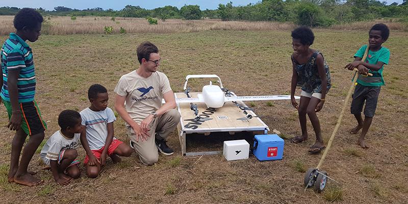 A Vanuatu consegnano i vaccini coi droni - Il Post