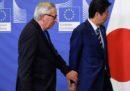 L'UE ha ratificato un enorme accordo commerciale col Giappone