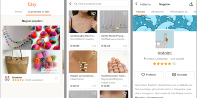 Come fare acquisti su Etsy, una guida