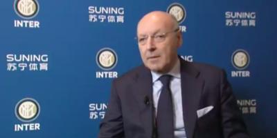 Giuseppe Marotta è il nuovo amministratore delegato dell'Inter