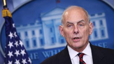 John Kelly, capo dello staff di Donald Trump, lascerà il suo incarico a fine mese