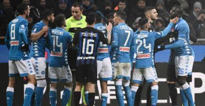 Cosa è successo alla fine di Inter-Napoli