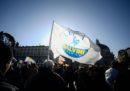 Le foto della manifestazione della Lega a Roma