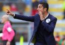 Il Frosinone ha esonerato l'allenatore Moreno Longo
