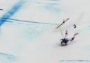 Lo sciatore svizzero Marc Gisin è stato ricoverato dopo una brutta caduta nella prova di Coppa del Mondo in Val Gardena