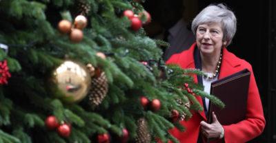 C'è un altro problema per May in vista del voto su Brexit
