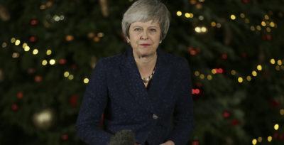 Theresa May ha ottenuto la fiducia del Partito Conservatore