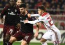Il Milan è stato eliminato dai gironi di Europa League