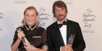 La moda italiana, premiata ai British Fashion Awards