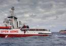 I migranti della Open Arms sbarcheranno a Lampedusa