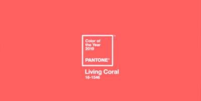 """""""Living Coral"""" è il colore Pantone del 2019"""