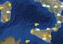 Le previsioni meteo per lunedì 17 dicembre