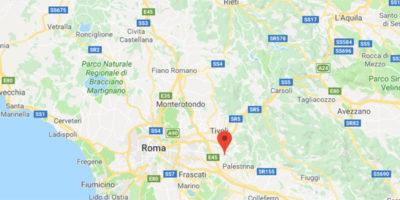 Nella notte c'è stato un terremoto di magnitudo 3.2 a est di Roma