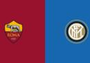Roma-Inter in streaming e in diretta TV