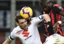 Serie A, i risultati della 15ª giornata