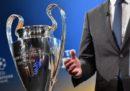 Sorteggi di UEFA Champions League: le avversarie di Juventus e Roma agli ottavi