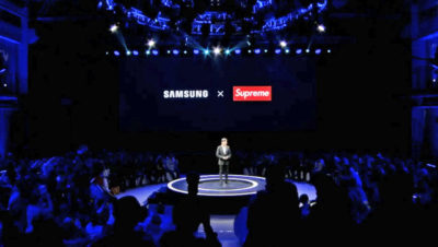 Samsung ha annunciato una collaborazione con Supreme, ma non l'azienda originale