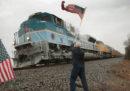 L'ultimo viaggio in treno di George H. W. Bush