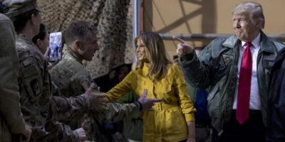 La visita di Donald Trump in Iraq
