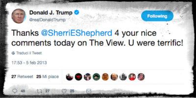 Il giorno in cui Trump imparò a twittare