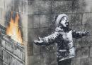 È stato venduto il murale di Banksy comparso a Natale in Galles