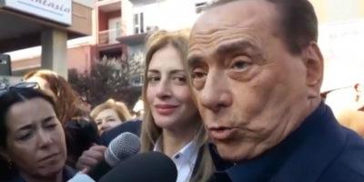 Silvio Berlusconi ha detto che si candiderà alle elezioni europee