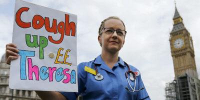Gli infermieri che fuggono da Brexit