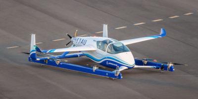 Il primo test del taxi volante di Boeing