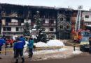 Due persone sono morte in un incendio nella località sciistica di Courchevel, in Francia