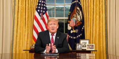 Il discorso di Trump sul muro con il Messico