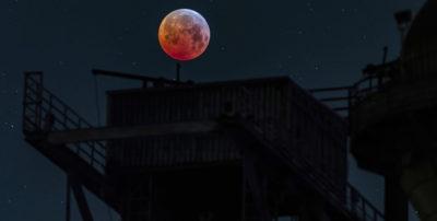 Le foto dell'eclissi di Luna