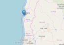 In Cile c'è stato un terremoto di magnitudo 6.7