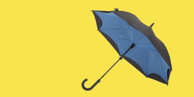 Vantaggi e svantaggi degli ombrelli inversi