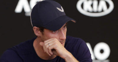 Tennis sotto shock, Murray in lacrime: