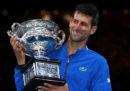 Novak Djokovic ha vinto gli Australian Open