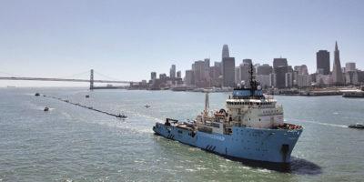 La barriera per ripulire il Pacifico per ora è un fallimento