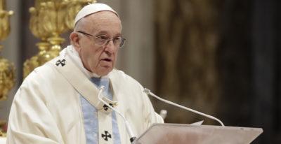 Meglio atei che cristiani ipocriti, dice il Papa