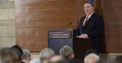 Forse c'è una nuova strategia degli Stati Uniti in Medio Oriente