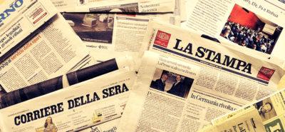 Quanto vendono i quotidiani, rispetto a cinque anni fa