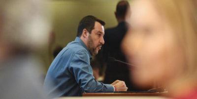 """Salvini non vuole essere processato sul """"caso Diciotti"""""""