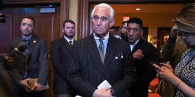 L'amministrazione Trump sta cercando di salvare Roger Stone