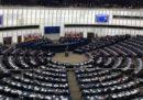 Le foto dell'aula del Parlamento Europeo semivuota durante il discorso di Conte