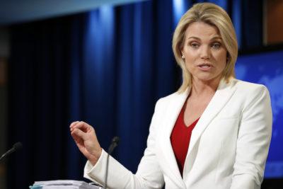 Heather Nauert ha rinunciato al suo incarico di nuovo rappresentante degli Stati Uniti all'ONU