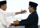 Joko Widodo è stato rieletto presidente dell'Indonesia, il suo sfidante Prabowo Subianto lo ha accusato di brogli