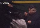 Anche Kim Jong-un fa la pausa sigaretta in stazione