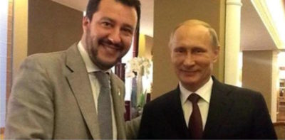 Secondo un nuovo libro anticipato dall'Espresso, la Lega potrebbe aver ricevuto ingenti finanziamenti dal governo russo